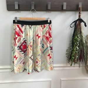 &Other Stories print skirt
